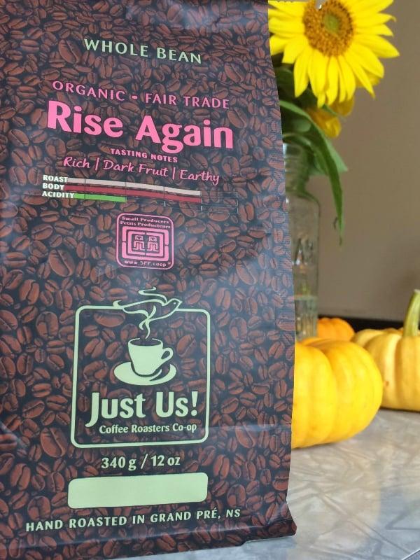 rise again whole bean coffee