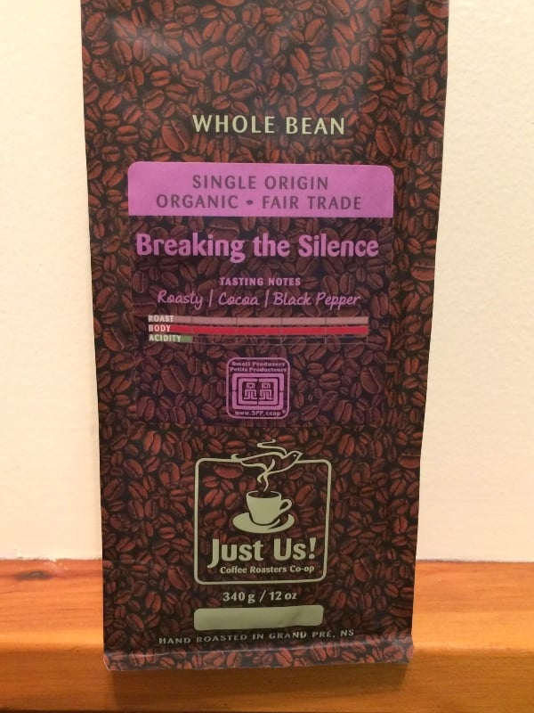 Just Us! Breaking the Silence Whole Bean Coffee