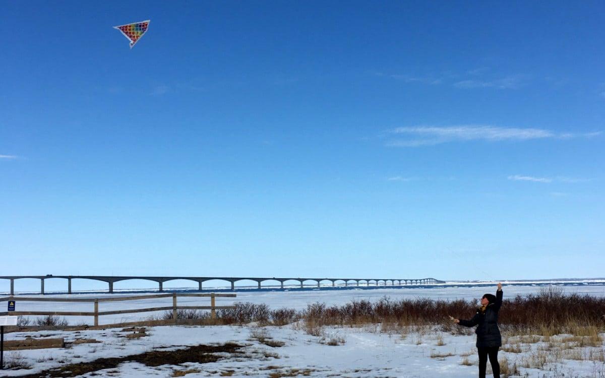 Flying a Kite Cape Jourimain