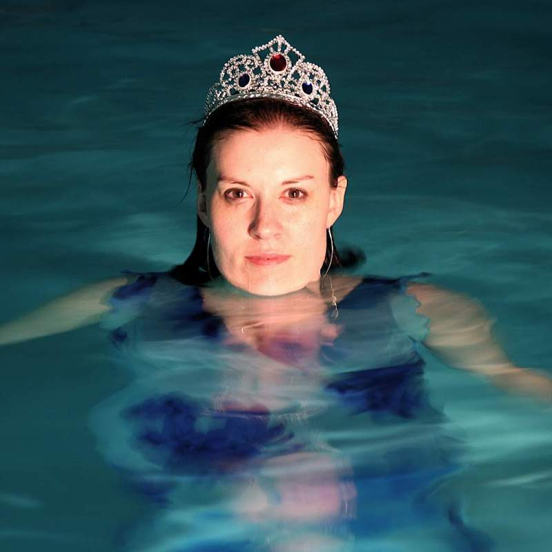 Marsha Amanova Tiara in Pool Photo Shoot