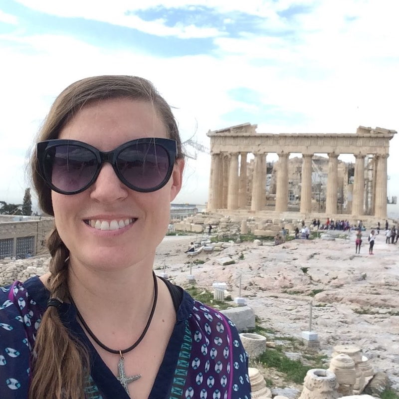 Marsha Amanova in Athens, Greece